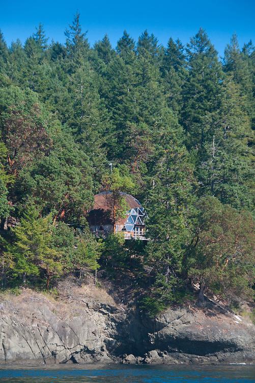 Geodesic Dome, Stuart Island, Washington, US