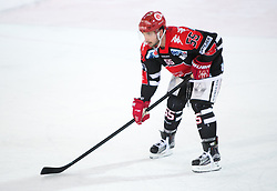 13.12.2015, Tiroler Wasserkraft Arena, Innsbruck, Österreich, EBEL, HC TWK Innsbruck die Haie vs HC Orli Znojmo, 30. Runde, im Bild Nick Schaus (HC TWK Innsbruck  Die Haie) // during the Erste Bank Icehockey League 30th round match between HC TWK Innsbruck  die Haie and HC Orli Znojmo at the Tiroler Wasserkraft Arena in Innsbruck, Austria on 2015/12/13. EXPA Pictures © 2015, PhotoCredit: EXPA/ Jakob Gruber