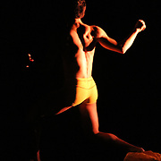 Whim W'him dancers Kelly Ann Barton and Vincent Lopez performing Oliver Weaver's Fragments at Chop Shop 2010: Bodies of Work.