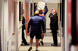 Scott Murray brings towels in prior to kick off - Mandatory by-line: Ryan Hiscott/JMP - 09/04/2019 - FOOTBALL - Ashton Gate Stadium - Bristol, England - Bristol City v West Bromwich Albion - Sky Bet Championship