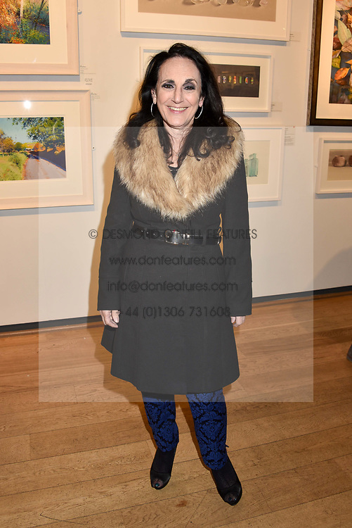 Lesley Joseph at The Philanthropist After Party held at The Mall Galleries, 17 Carlton House Terrace, London England. 20 April 2017.