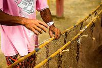 Espirito Santo - Conceicao da Barra -  Producao de rede de pesca em Conceicao da Barra, rio Cricare - Foto: Gabriel Lordello/Mosaico Imagem