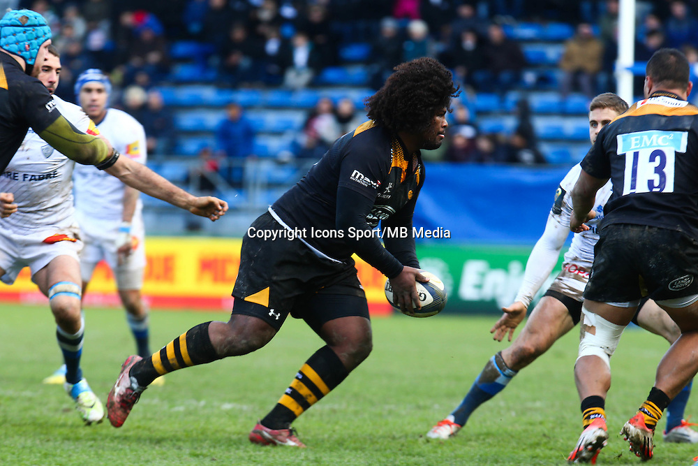 Ashley Johnson - 07.12.2014 - Castres / London Wasps - European Champions Cup<br />