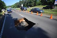 highway 6 sinkhole