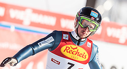 30.01.2016, Casino Arena, Seefeld, AUT, FIS Weltcup Nordische Kombination, Seefeld Triple, Skisprung, Wertungssprung, im Bild Jan Schmid (NOR) // Jan Schmid of Norway reacts after his Competition Jump of Skijumping of the FIS Nordic Combined World Cup Seefeld Triple at the Casino Arena in Seefeld, Austria on 2016/01/30. EXPA Pictures © 2016, PhotoCredit: EXPA/ JFK