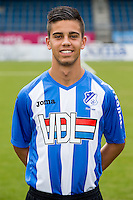 EINDHOVEN - Persdag FC Eindhoven , Voetbal , Seizoen 2015/2016 , Jan Louwers stadion , 22-07-2015 , Miguel Lopes