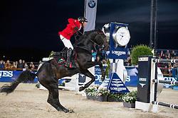 Dreher Hans Dieter, (GER), Embassy II<br /> Grand Prix CSI 5*<br /> Longines Global Champions Tour - Antwerp 2015<br />  © Hippo Foto - Dirk Caremans<br /> 25/04/15
