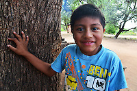 Guarani boy in Isosog, Bolivia