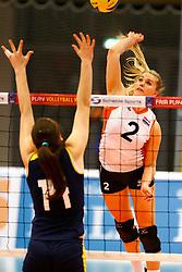 20140426 NED: Jong Oranje Vrouwen - Roemenie, Arnhem <br /> Ilse Janssen (2) The Netherlands<br /> ©2014-FotoHoogendoorn.nl / Pim Waslander