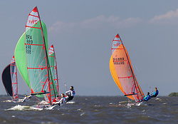 February 8, 2019 - Porto Alegre, Brazil - PORTO ALEGRE, RS - 08.02.2019: XXVI COPA DA JUVENTUDE 2019 - Second race day of the XXVI Youth Cup 2019. Held at Veleiros do Sul, Porto Alegre, RS. With approximately 70 watercraft, the Youth Cup will have a dispute in the following classes: RS: X (Men and Women), Laser Radial (Men and Women), 420 (Men and Women) and 29er Masc. And Fem.). The event is selective for the formation of the Brazilian Youth Sailing Team (EBVJ) that will represent Brazil in the World Youth Championship, to be held in July 2019 in the city of Gdynia, Poland. (Credit Image: © Raul Pereira/Fotoarena via ZUMA Press)
