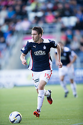 Falkirk's Luke Leahy.<br /> Falkirk 1v 1 Dumbarton, Scottish Championship game played 20/9/2014 at The Falkirk Stadium .