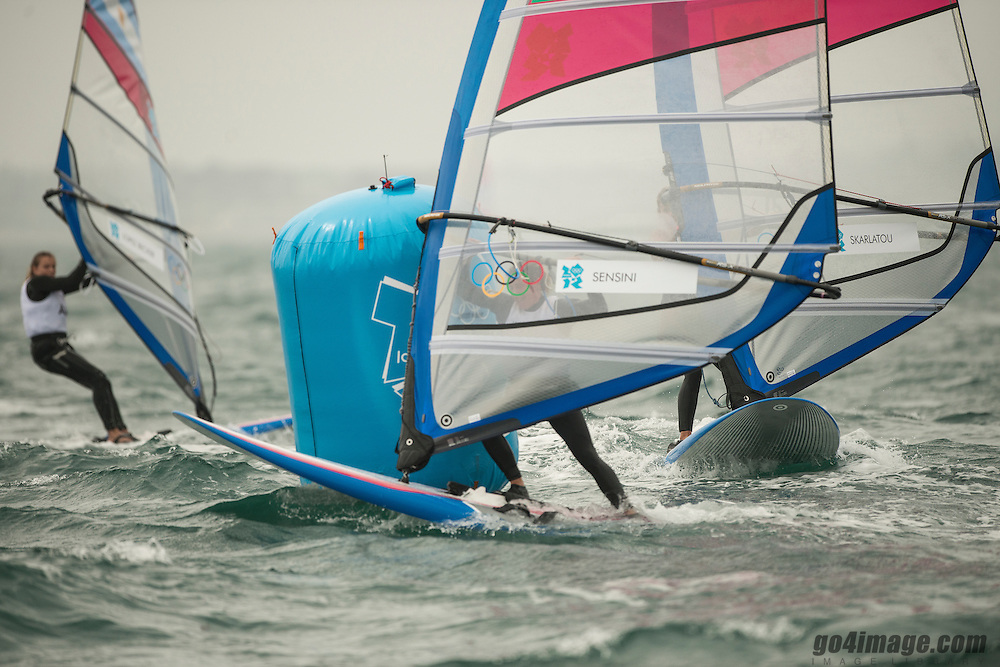 2012 Olympic Games London / Weymouth<br /> RSX women racing day 1 <br /> RS:X WomenITASensini Alessandra