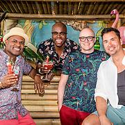 NLD/Overveen/20170330 - Gabbers presenteren nieuwe show, Jandino Asporaat, Guido Weijers, Roue Verveer en Philip Geubels