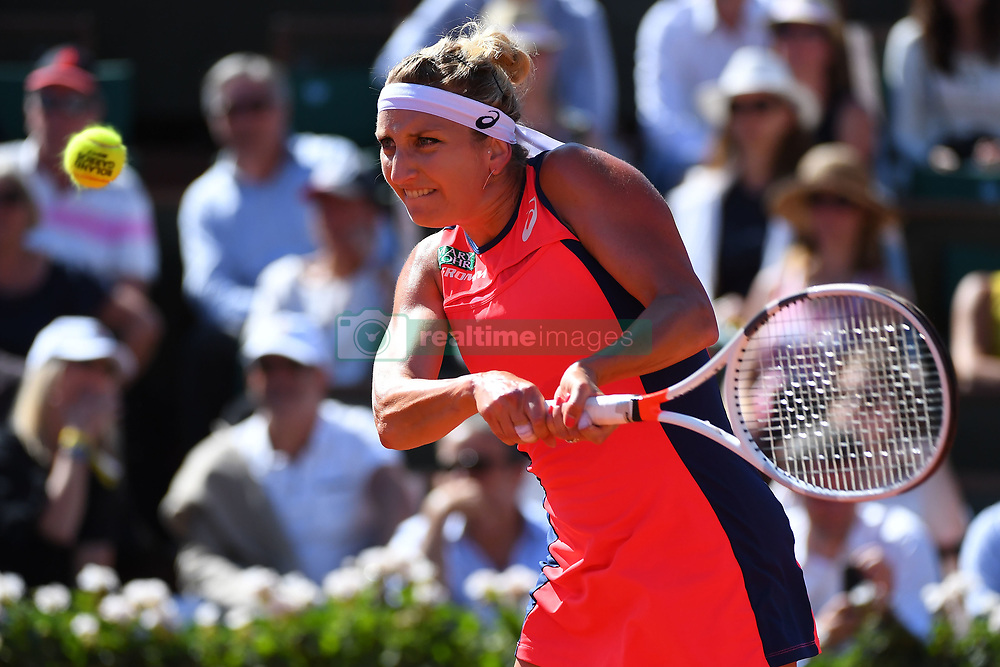 June 8, 2017 - Paris, FRANCE - Timea Bacsinszky  (Credit Image: © Panoramic via ZUMA Press)
