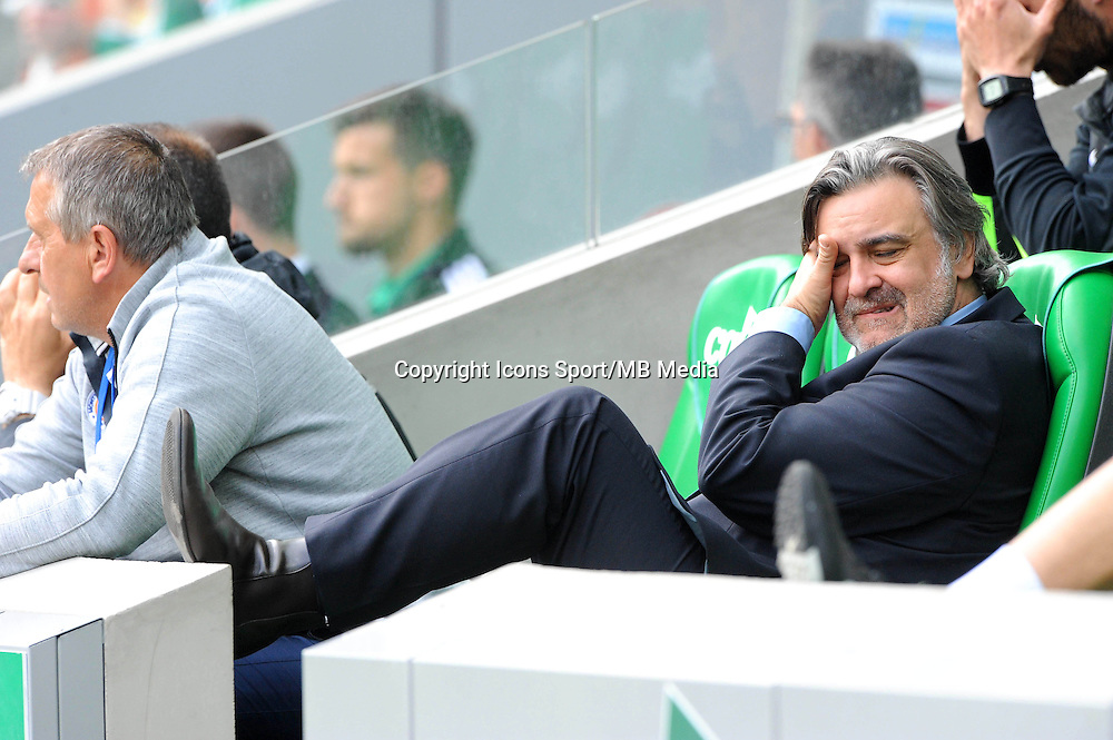 Laurent NICOLLIN - 26.04.2015 - Saint Etienne / Montpellier - 34eme journee de Ligue 1<br />
