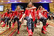 GU men's pregame Alumni Social March 5 at the WCC Tournament in Las Vegas (Photo by Ryan Sullivan)