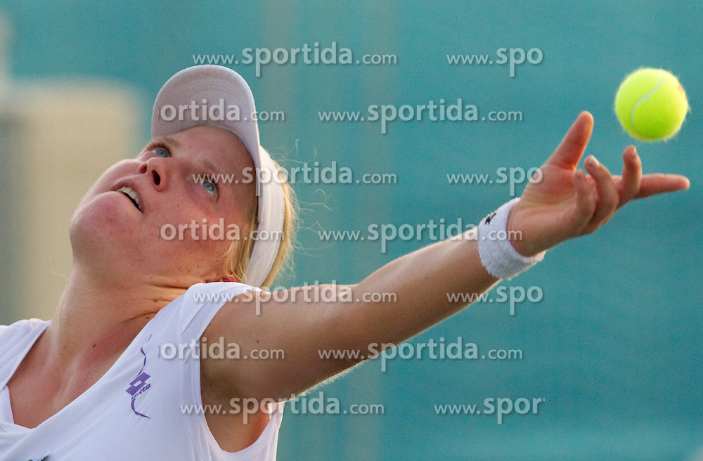 Masa Zec Peskiric of Slovenia at 1st Round of Singles at Banka Koper Slovenia Open WTA Tour tennis tournament, on July 20, 2010 in Portoroz / Portorose, Slovenia. (Photo by Vid Ponikvar / Sportida)