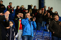 Fleetwood Town fans celebrate - Mandatory by-line: Dougie Allward/JMP - 05/04/2017 - FOOTBALL - Kassam Stadium - Oxford, England - Oxford United v Fleetwood Town - Sky Bet League One