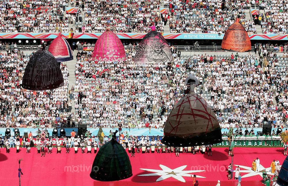 FussballInternational WM 2006 Fussball WM Eroeffnungsspiel Deutschland gegen Costa Rica Stadionuebersicht