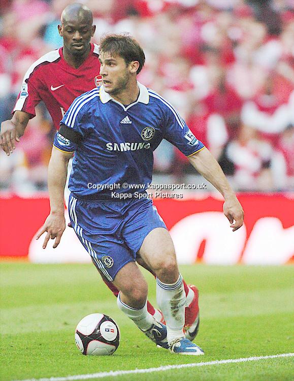 BRANISLAV IVANOVIC, CHELSEA, Arsenal v Chelsea, FA Cup Semi Final, Wembley Stadium, Saturday 18th April 2009