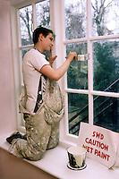 Apprentice painter, council direct works dept....