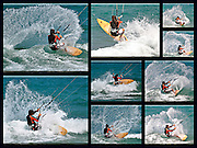 9 image surfing collage