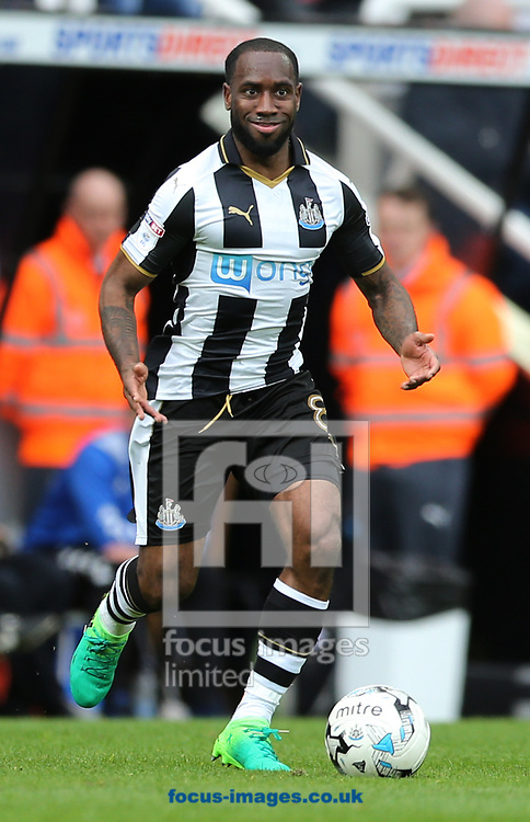 Vurnon Anita of Newcastle United during the Sky Bet Championship match at St. James's Park, Newcastle<br /> Picture by Simon Moore/Focus Images Ltd 07807 671782<br /> 01/04/2017