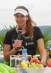 29.07.2014, Klagenfurt, Strandbad, AUT, A1 Beachvolleyball Grand Slam 2014, im Bild Teresa Strauss 2 AUT // during the A1 Beachvolleyball Grand Slam at the Strandbad Klagenfurt, Austria on 2014/07/29. EXPA Pictures © 2014, EXPA Pictures © 2014, PhotoCredit: EXPA/ Mag. Gert Steinthaler