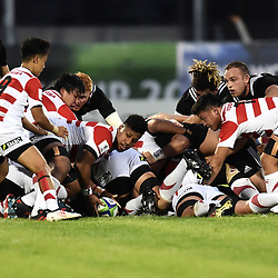 Asipeli Moala of Japan during the U20 World Championship match between New Zeland and Japan on May 30, 2018 in Narbonne, France. (Photo by Alexandre Dimou/Icon Sport)