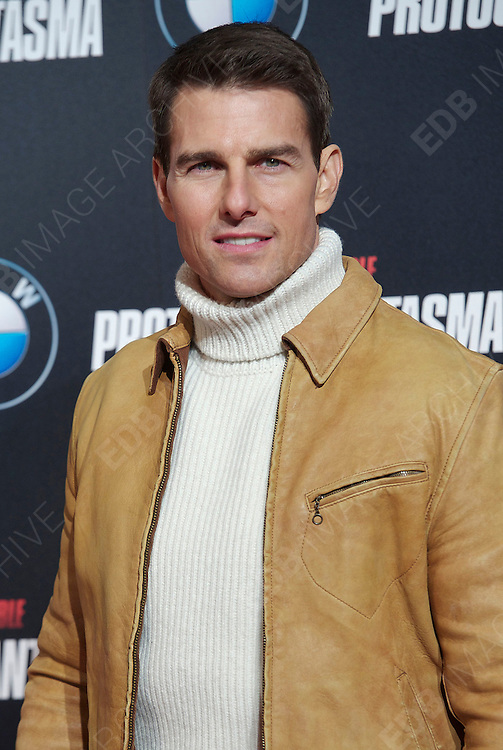 12.DECEMBER.2011. MADRID<br /> <br /> TOM CRUISE AT THE MISSION IMPOSSIBLE: GHOST PROTOCOL PREMIERE AT CALLAO CINEMA IN MADRID, SPAIN<br /> <br /> BYLINE: EDBIMAGEARCHIVE.COM<br /> <br /> *THIS IMAGE IS STRICTLY FOR UK NEWSPAPERS AND MAGAZINES ONLY*<br /> *FOR WORLD WIDE SALES AND WEB USE PLEASE CONTACT EDBIMAGEARCHIVE - 0208 954 5968*