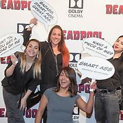 NLD/Hilversum/20160209 - Filmpremiere Deadpool, .......