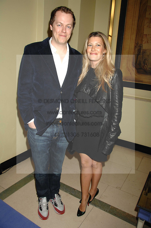 TOM & SARA PARKER-BOWLES at the 10th Anniversary Party of the Lavender Trust, Breast Cancer charity held at Claridge's, Brook Street, London on 1st May 2008.<br />