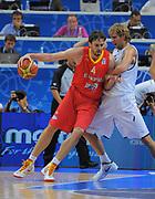 DESCRIZIONE : Vilnius Lithuania Lituania Eurobasket Men 2011 Second Round Germania Spagna Germany Spain<br /> GIOCATORE : Pau Gasol<br /> SQUADRA : Spagna Spain<br /> EVENTO : Eurobasket Men 2011<br /> GARA : Germania Spagna Germany Spain<br /> DATA : 07/09/2011 <br /> CATEGORIA : palleggio<br /> SPORT : Pallacanestro <br /> AUTORE : Agenzia Ciamillo-Castoria/T.Wiendesohler<br /> Galleria : Eurobasket Men 2011 <br /> Fotonotizia : Vilnius Lithuania Lituania Eurobasket Men 2011 Second Round Germania Spagna Germany Spain<br /> Predefinita :