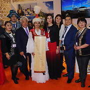 London, England, UK. 7th November 2017. Hundreds of stall promoter travelling and holiday throughout the globe at the International Travel Trade Show #WTMLDN at Excel London.