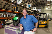 Ray Ziegler, owner of RZI Lighting in New Orleans