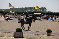 De Deken Julie (BEL) - Lucky Dance<br /> Belgisch Kampioenschap Dressuur - Hulsterlo/ Meerdonk 2013<br /> © Dirk Caremans