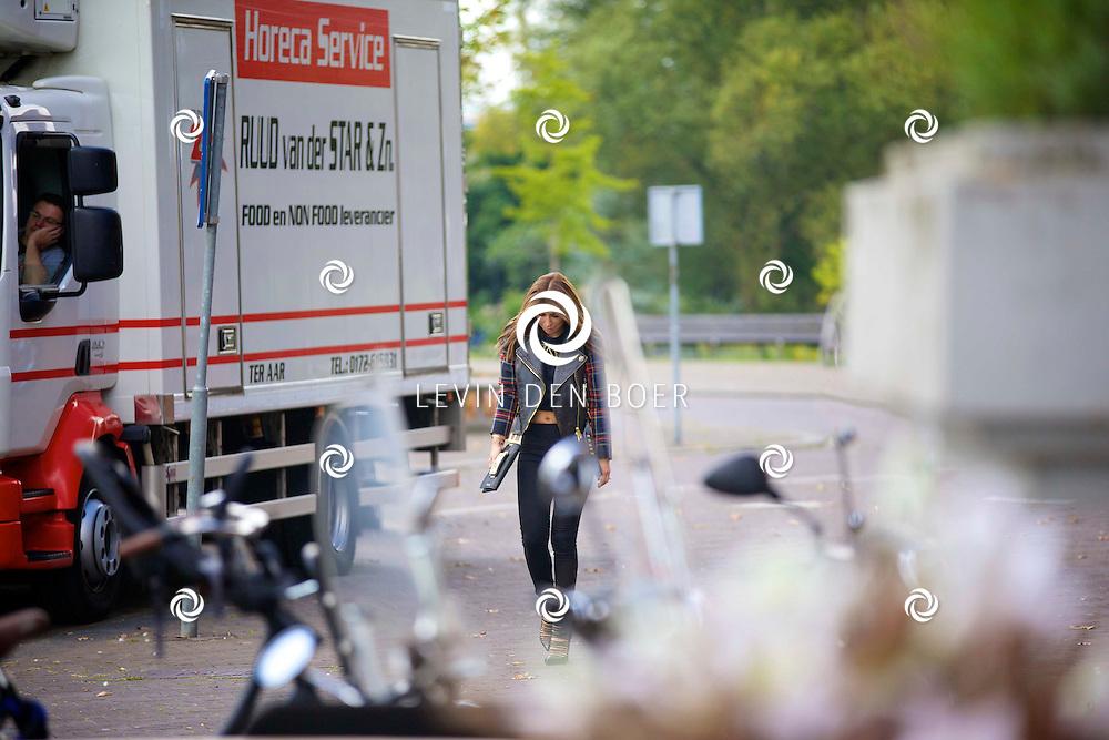 AMSTERDAM - Talkies Lifestylelunch bij The Oyster Club is een jaarlijks event. Met hier op de foto  Olcay Gulsen. FOTO LEVIN DEN BOER - PERSFOTO.NU