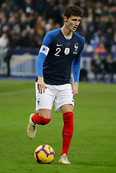 France's Benjamin Pavard during France v Uruguay friendly football match at the Stade de France in Saint-Denis, suburb of Paris, France on November 20, 2018. France won 1-0. Photo by Henri Szwarc/ABACAPRESS.COM
