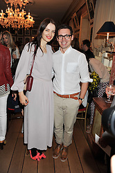 ROKSANDA ILINCIC and ERDEM MORALIOGLU at a lunch to celebrate the the Lulu & Co Autumn/Winter 2011 collection held at Harry's Bar, 26 South Audley Street, London W1 on 21st June 2011.