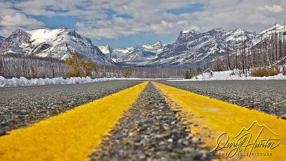 Road to Glacier National Park