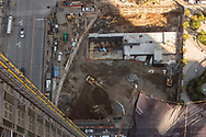 AERIAL VIEW OF SITE FROM ROOF OF 55 HUDSON YARDS