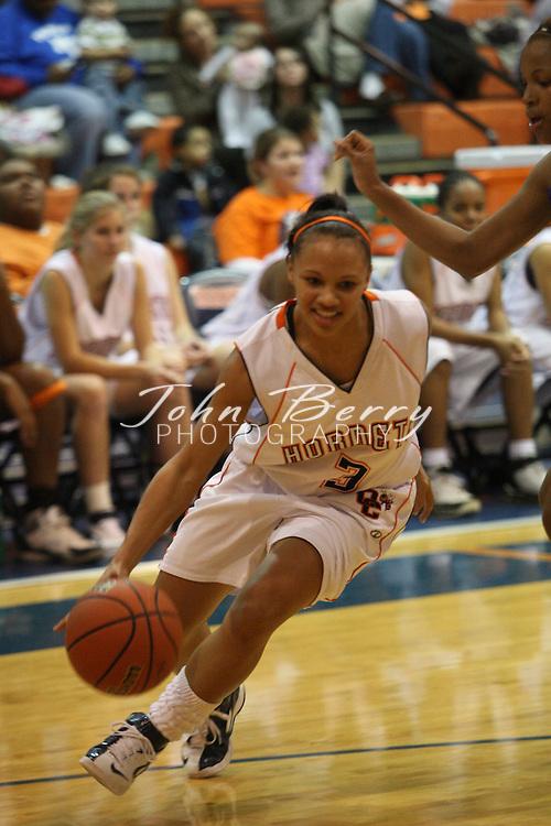 MCHS Varsity Girl's Basketball.vs Orange.12/4/2007..