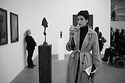NOOR BINLADEN,  Substance and Shadow; Alberto Giacometti cculptures and their photographs by Peter Lindbergh. Gagosian, Britannia Street, WC1X 9JD