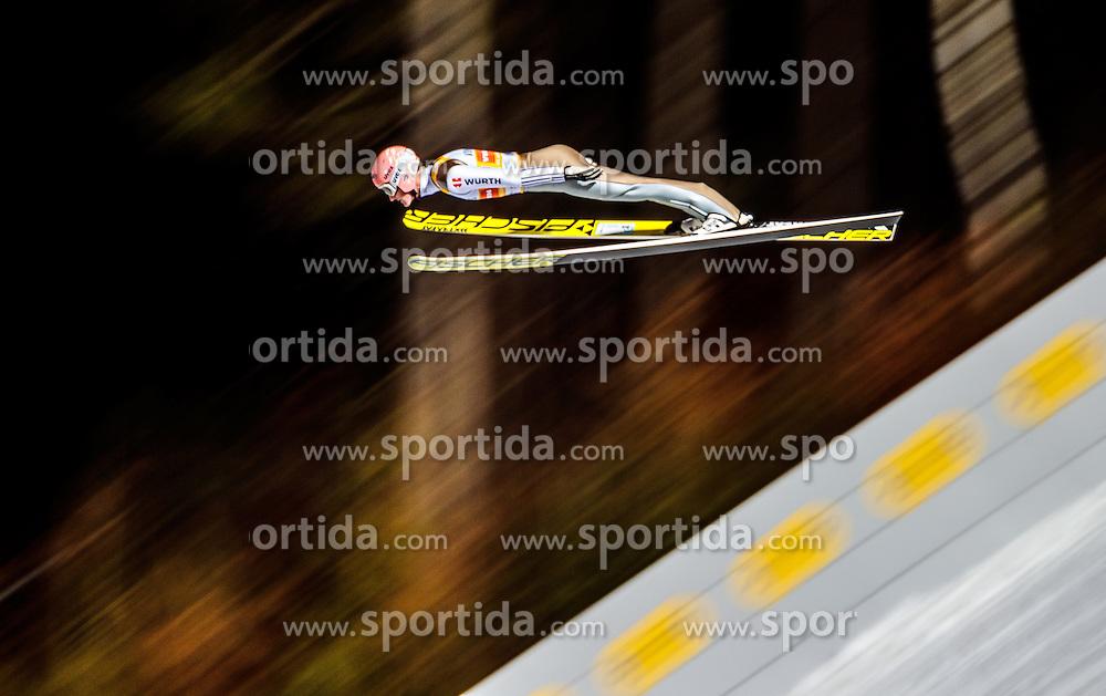 02.12.2016, Vogtland Arena, Klingenthal, GER, FIS Weltcup Ski Sprung, Klingenthal, im Bild Severin Freund (GER) // Severin Freund of Germany during the mens FIS Skijumping World Cup at the Vogtland Arena in Klingenthal, Germany on 2016/12/02. EXPA Pictures © 2016, PhotoCredit: EXPA/ JFK