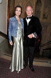 SIR & LADY HARRY NUTTALL at the Women for Women International UK Gala held at the Guildhall, City of London on 3rd May 2012.