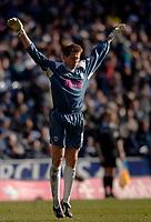 Photo: Glyn Thomas.<br />West Bromwich Albion v Chelsea. The Barclays Premiership. 04/03/2006.<br />West Brom's keeper Tomasz Kuszczak.
