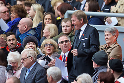 LIVERPOOL, ENGLAND - Friday, April 15, 2016: Liverpool's non-executive director Kenny Dalglish during the 27th Anniversary Hillsborough Service at Anfield. (Pic by David Rawcliffe/Propaganda)