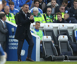 Sheffield Wednesday Manager Carlos Carvalhal - Mandatory by-line: Paul Terry/JMP - 16/05/2016 - FOOTBALL - Amex Stadium - Brighton, England - Brighton and Hove Albion v Sheffield Wednesday - Sky Bet Championship Play-off Semi-final second leg