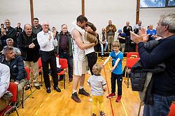 Goran Jagodnik after basketball match between KD Ilirija and KK Mesarija Prunk Sezana in Last Round of 2. SKL  2016/17, on April 15, 2017 in GIB center, Ljubljana, Slovenia. Photo by Vid Ponikvar / Sportida
