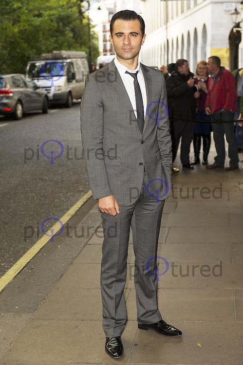 Darius Campbell, Children In Need - gala lunch, The Savoy Hotel, London UK, 27 October 2013, Photo by Raimondas Kazenas
